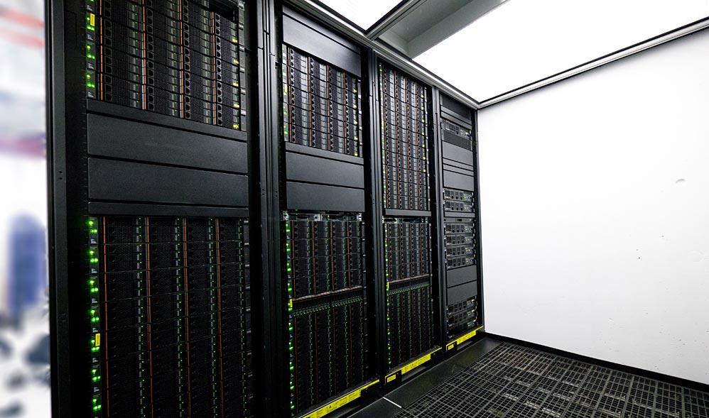 Large scale data facility