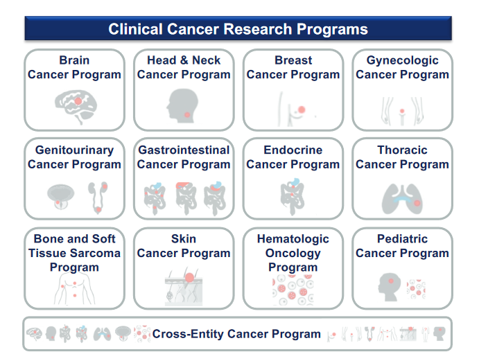 Figure 2: Clinical Cancer Research Programs at NCT Heidelberg