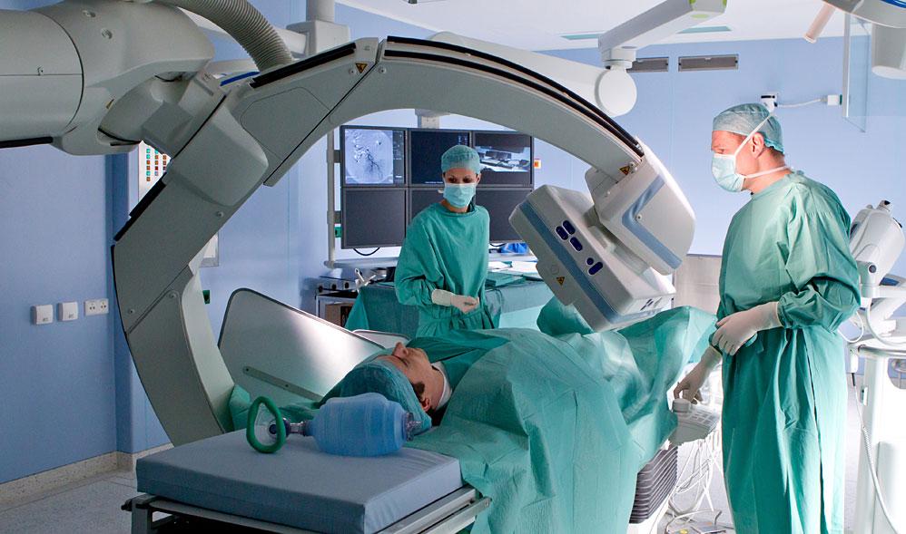 rundum positionierbare Röntgenanlage